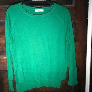 Zara knit green sweater